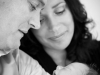 Familieportret van ouders met baby zoon