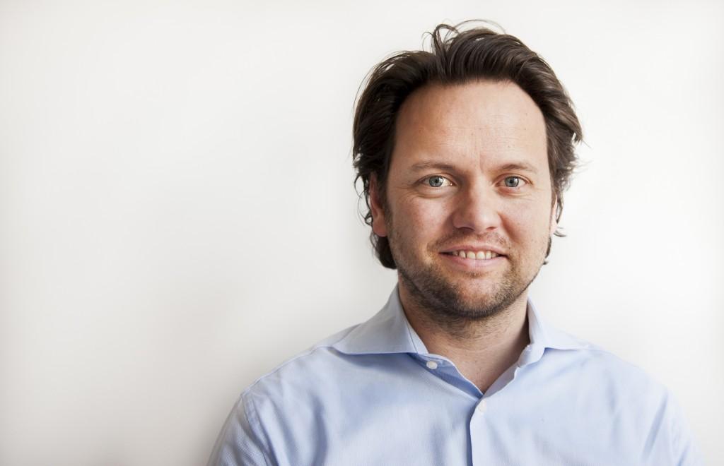 Portret van Bas Clerkx voor website van Double Dividend
