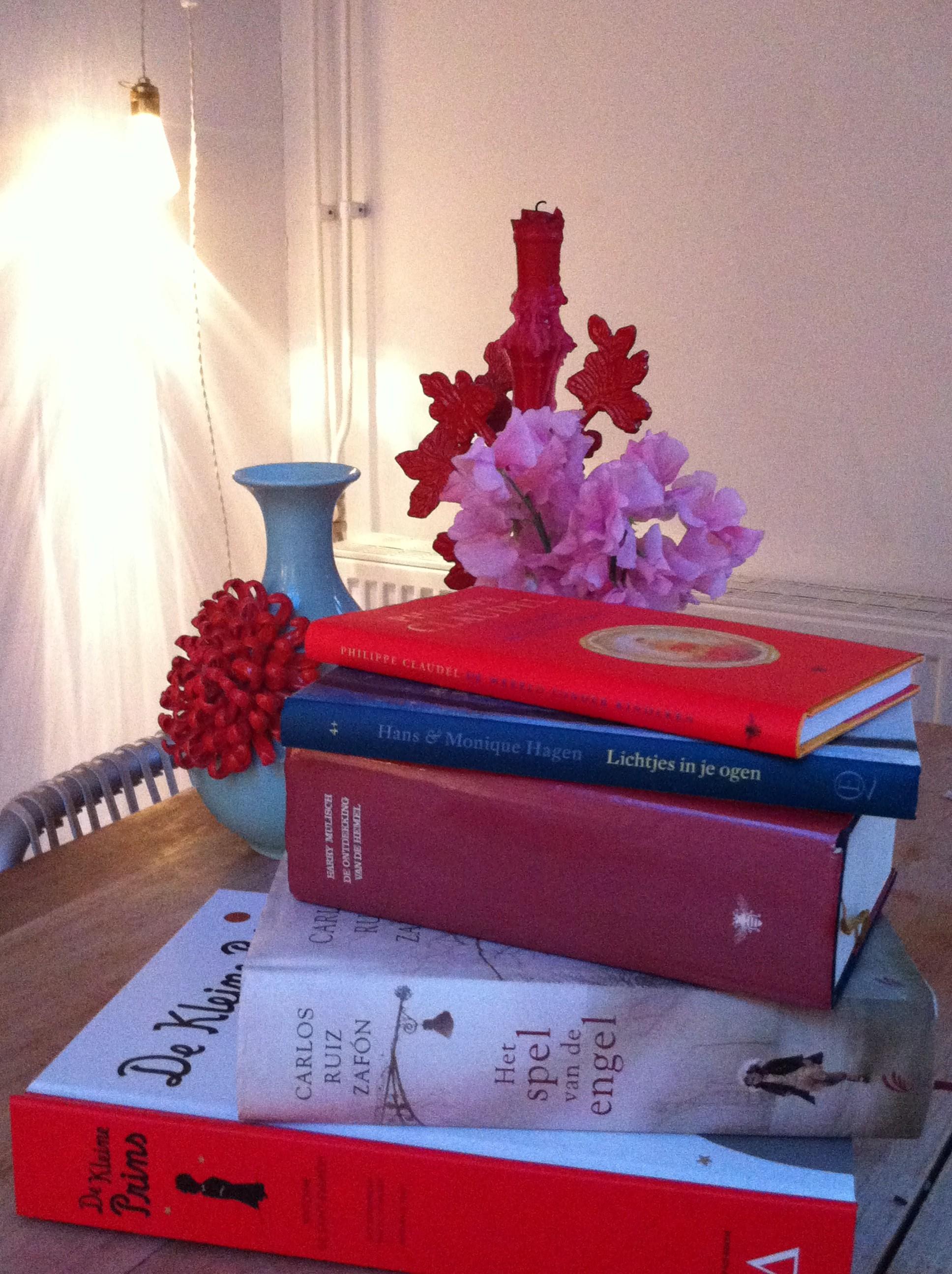 Favoriete vijf boeken