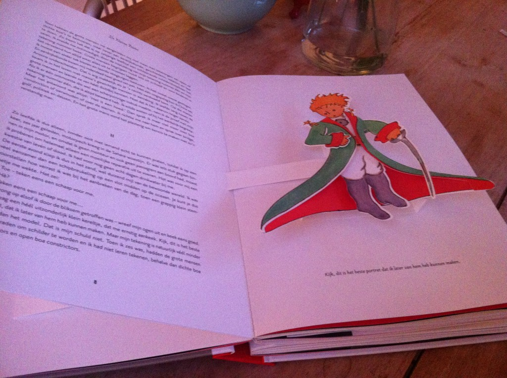 Pop up book of the Petit Prince