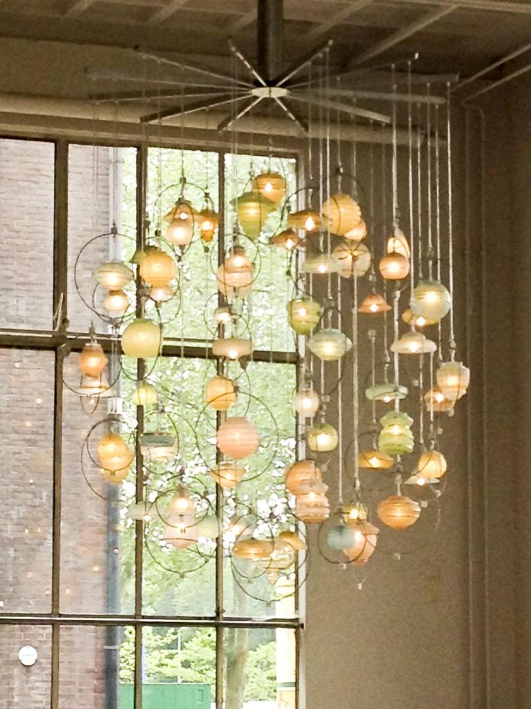 Piet Hein Eek Oudelampenkapjes lamp