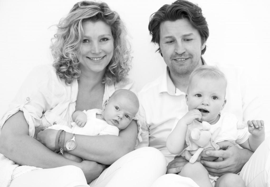 Familieportret in Hilligersberg door Marielle Penrhyn Lowe